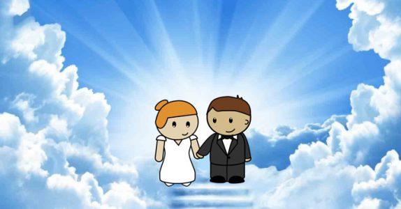 Å gifte seg i himmelen er en dårlig ide. Grunnen? Jeg ler så tårene triller!
