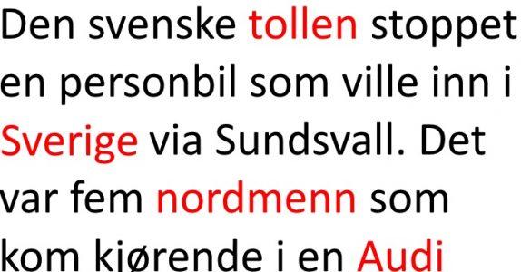 Nordmennene blir stoppet i den svenske tollen. Grunnen? Jeg ler så tårene triller!