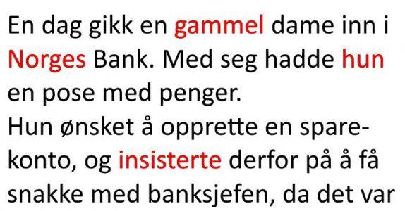 Banksjefen går med på et sikkert veddemål. Resultatet? Jeg ler så tårene spruter!