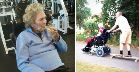 10 bilder av pensjonister som har sluttet å bry seg. På nummer 5 lo jeg meg ut av stolen!